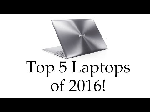 Top Rated Laptops 2016/2017
